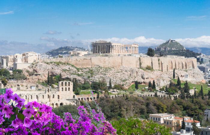 Acropolis Athens Parthenon Odeon Herodes