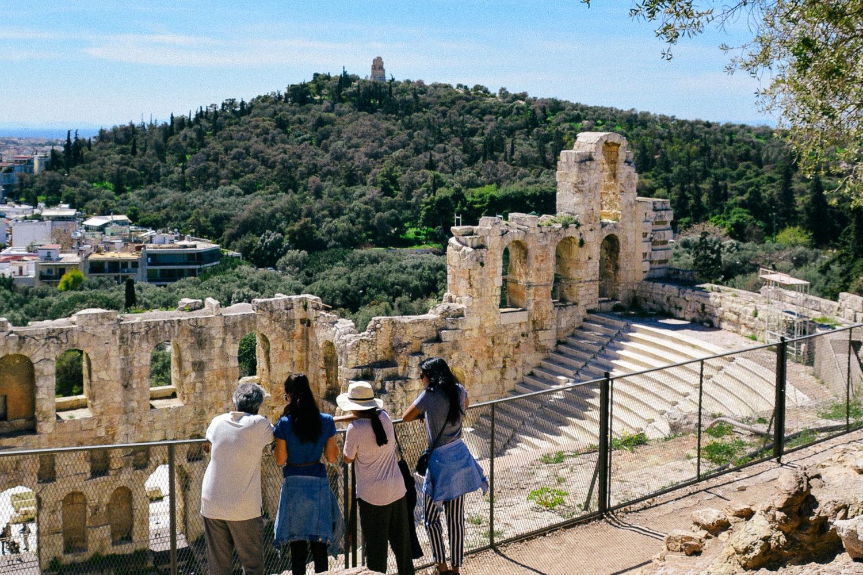 athens tour Odeon Herodus Attikus