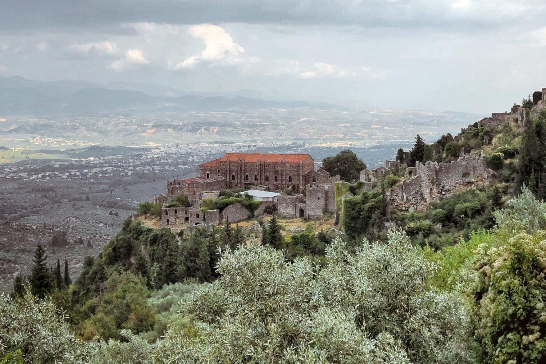 Mystras-Sparta-byzantine-castle