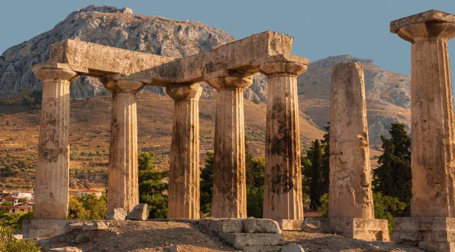 Temple of Apollo- Ancient Corinth & Acrocorinth
