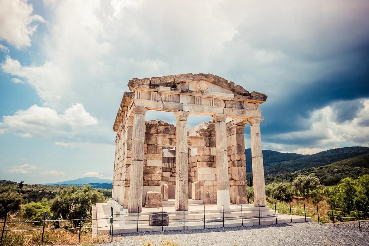 Ancient Messene mausoleum