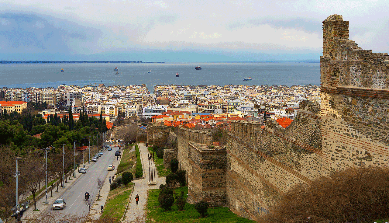 Thessaloniki Walls