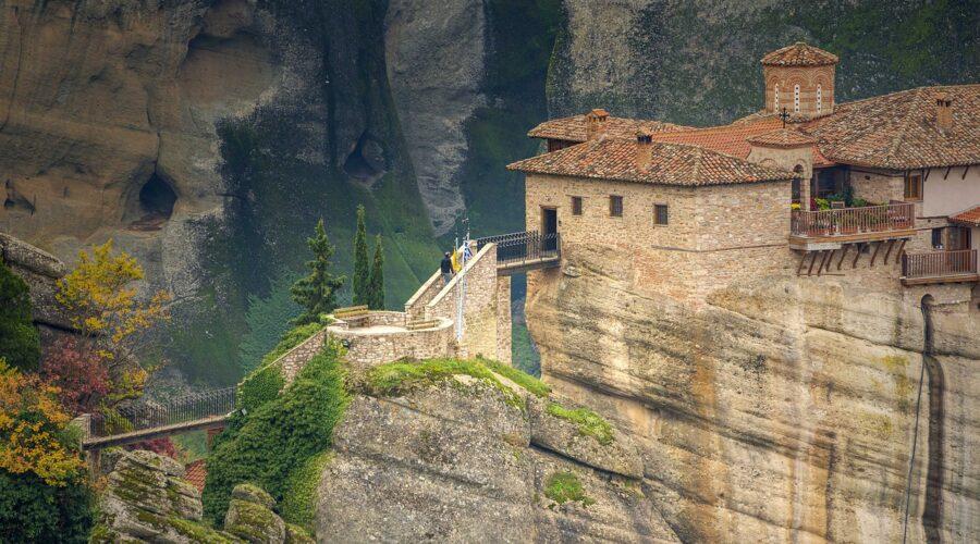 Meteora monasteries