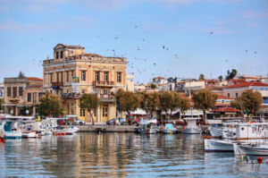aegina town and port
